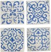 Casa Uno Marrakesh Cement Coaster (Set of 4)