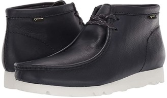 Clarks Wallabee Boot GTX (Ink Leather) Men's Shoes
