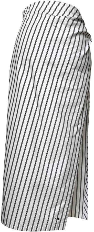 Off-White White Cotton Skirt for Women