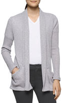 Calvin Klein Ribbed Open-Front Cardigan