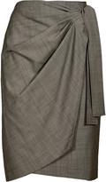 Etoile Isabel Marant Natasha Wrap-Effect Skirt