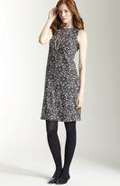 J. Jill Wearever lace-print sheath dress