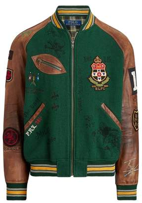 Ralph Lauren Varsity-Inspired Jacket