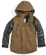 Burton 'Maddie' Water Resistant Jacket (Little Girls & Big Girls)