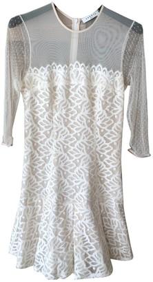 Sandro White Lace Dresses