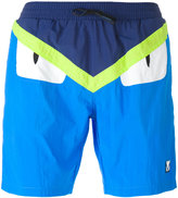 Fendi Bag Bugs swim shorts - men - Polyamide - 46
