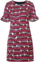 Trina Turk geometric print mini dress