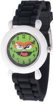 Sesame Street Boys Black Strap Watch-Wss000034