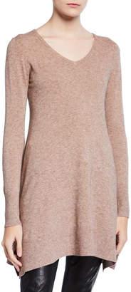 Patrizia Luca V-Neck Tunic Sweater