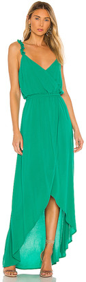 BB Dakota JACK by Ruffle & Cut Midi Dress. - size L (also
