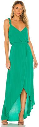 BB Dakota JACK by Ruffle & Cut Midi Dress. - size M (also
