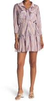 Thumbnail for your product : Love Stitch Geo Printed Chiffon Dress