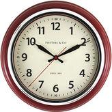 Asstd National Brand FirsTime Cayenne Wall Clock
