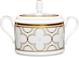Noritake Trefolio Gold Dinnerware Collection 2-Pc. Covered Sugar Dish