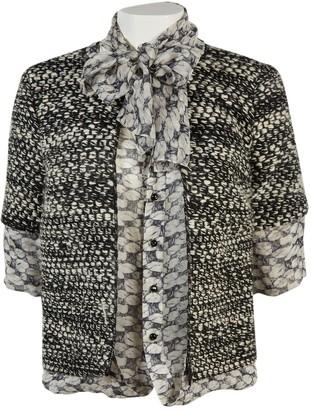 Thakoon Black Wool Leather jackets