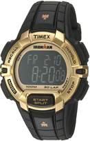 Timex Men's 'Ironman' Quartz Resin Sport Watch, Color:Black (Model: TW5M063009J)