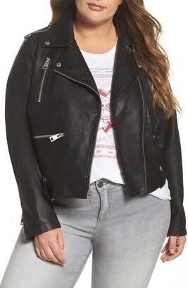 Levi's Lamb Touch Faux Leather Moto Jacket