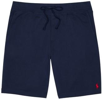 Polo Ralph Lauren Navy pique cotton shorts