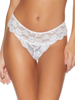 M&Co Lace high leg briefs two pack