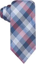 Ryan Seacrest Distinction Men's Glendale Gingham Slim Tie, Only at Macy's