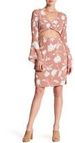 Flynn Skye Moscow Print Front Cutout Dress