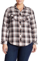 Angie Plaid Tunic (Plus Size)