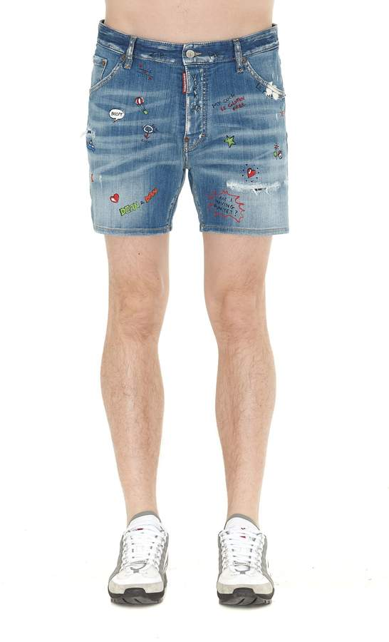 DSQUARED2 Dan Shorts
