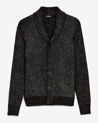 Express Solid Shawl Collar Cardigan