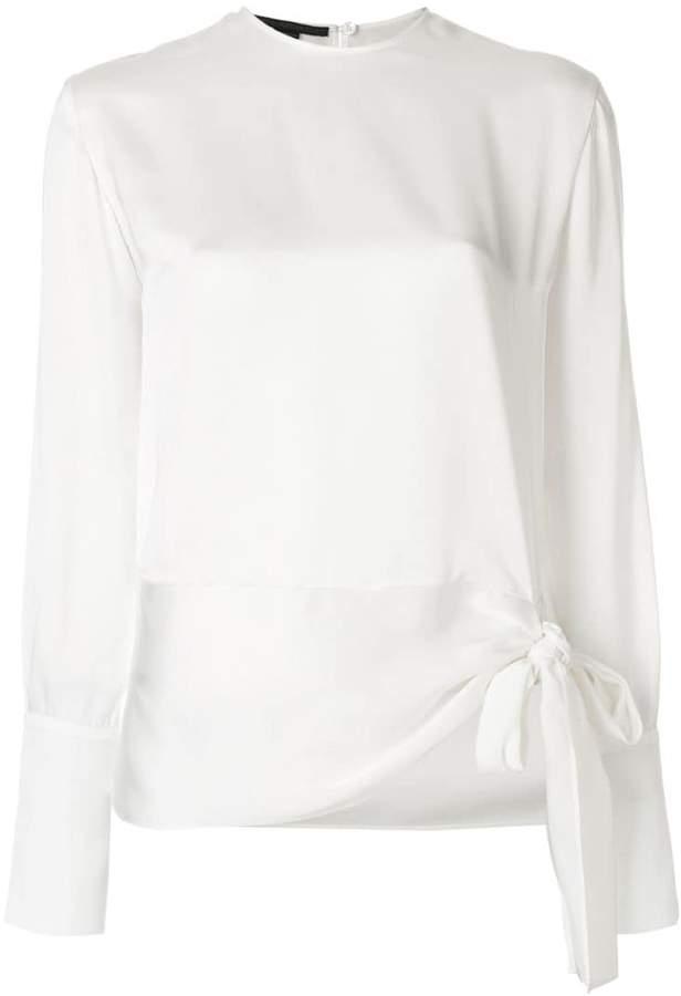 Stella McCartney tie hem blouse