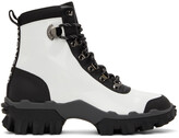 Thumbnail for your product : Moncler White & Black Helis Boots