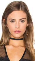 Vanessa Mooney Lace Choker in Black.