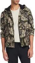 Roberto Cavalli Men's K-Way Tiger Jacket