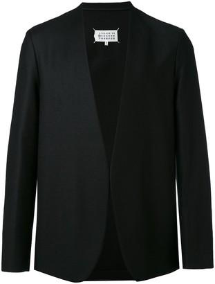 Maison Margiela minimal collarless blazer