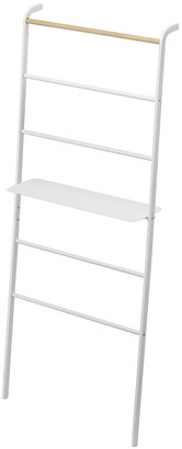 Yamazaki Tower Ladder With Rack - Wide - White