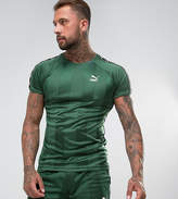 Puma Retro Football T-Shirt In Green Exclusive To Asos 57657802