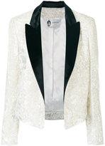 Lanvin two-tone velvet jacket
