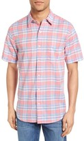 Faherty Men's Summer Blend Ventura Trim Fit Plaid Sport Shirt