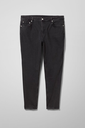 Weekday Lash Extra High Mom Jeans Ext - Black