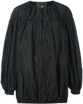 Giambattista Valli balloon sleeve oversized jacket - women - Polyester - 38