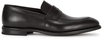 Church's Parham black leather penny loafers