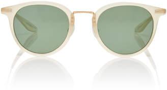 Barton Perreira Cambridge Acrylic Round Sunglasses