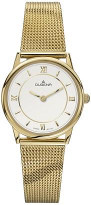 Dugena Women's Quartz Watch Basic 4460440 with Metal Strap