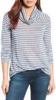 Gibson Raglan Sleeve Cowl Neck Sweater
