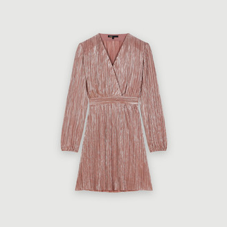 Maje .Lurex dress