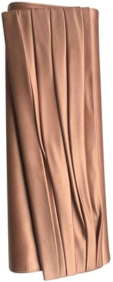 Christian Louboutin Pink Silk Clutch bags