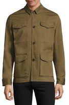 Officine Generale Travis Solid Regular-Fit Jacket