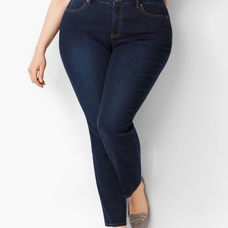 Talbots Plus Slim Ankle Jeans - Curvy Fit - Indy Wash