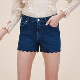 Maje Denim shorts