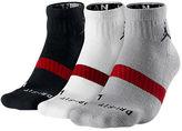 Nike Men's Jordan Low Quarter 3-Pack Socks