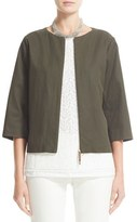Fabiana Filippi Women's Coated Cotton Blend Jacket